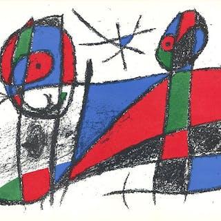 Joan Miró - Litografia originale III, VI, VIII