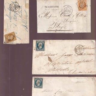 Frankreich 1852/1871 - 11 letters