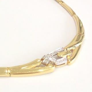 Damiani - 18 kt. Gold, White gold - Necklace - Diamonds