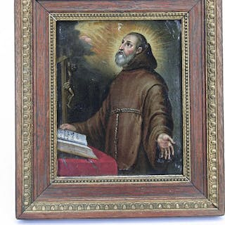Painting depicting St