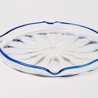 Daum - Large dish/tray Art Deco
