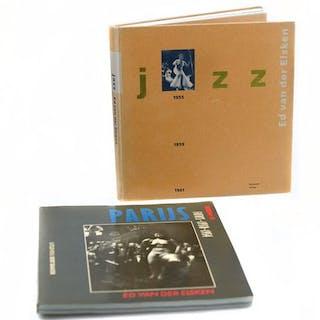 Ed van der Elsken - Lot with 2 books: Jazz & Parijs - 1985/1992