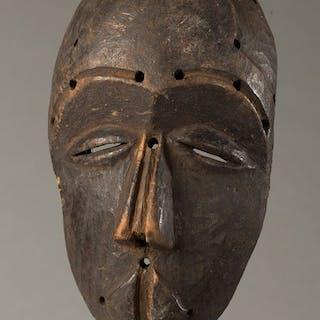Maschera viso - Legno - Kuba - Repubblica Democratica del Congo