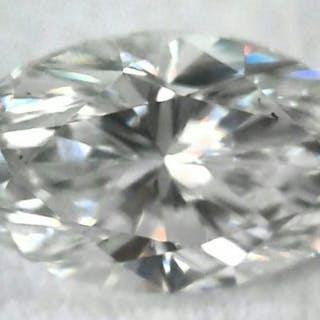 1 pcs Diamond - 0.80 ct - Marquise - F - VS2