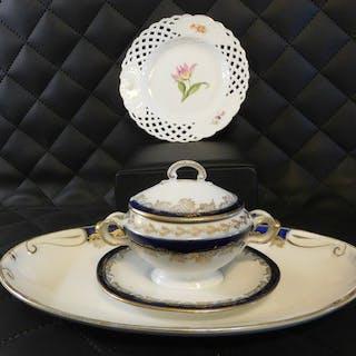 Meissen, und andere - Piatti e oggetti in stile Liberty - Porcellana
