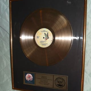 Queen - A day at the races Gold record - Offizieller RIAA-Award