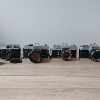 Canon Collection - EX EE - FTb - Pellix - AE-1 - Canonet - 50mm f/1.8