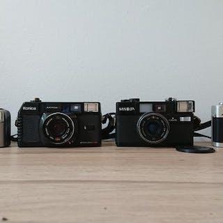 Canon, Konica, Minolta Collection - Hi Matic S2 - Prima Super 105 - C35