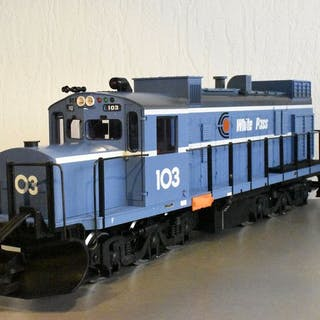 LGB G - 2155S - American Diesel Locomotive - White pass