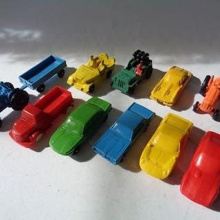 Tomte replica - 1:43 - Kavel met 11 stuks vinyl Cars: Look like Tomte