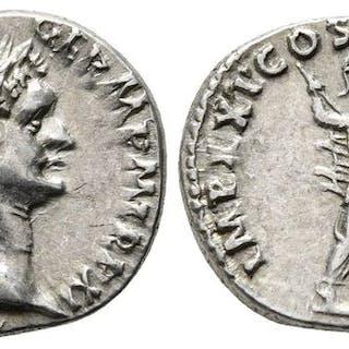 Impero romano - Denario Domiziano AD 81-96 Roma - Argento