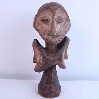 Statue - Legno - Lega Statua a più facce Sakimatwematwe - Congo RDC