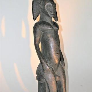 statuette (1) - Bois dur - statuette bamana - bamana - Mali