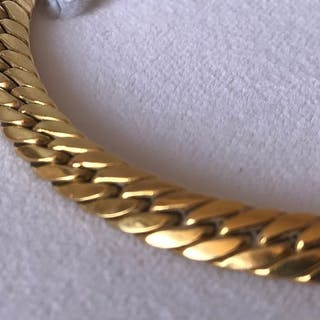 18 kt. Yellow gold - French 18k Gold Necklace