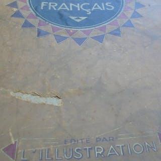Monde; L'Illustration - Atlas Colonial Français de  1929 - 1921-1950