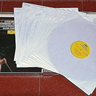 Daniel Barenboim - Bruckner 10 symphonien - Diverse Titel - LP's - 1981