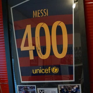 FC Barcelona - Spanische Fußball-Liga - Lionel Messi- Trikot(s)