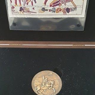 "Regno Unito - Medal ""Battle of Hastings - 950th Anniversary"" 1066/2016 - Bronzo"