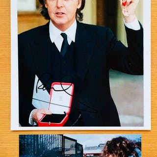 Paul McCartney - Authentisches signiertes Foto (20 x 25...