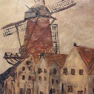 Juliette Wytsman - Trulemans (1866 - 1925) - Le moulin