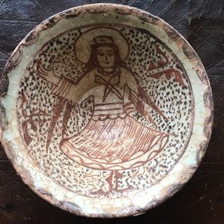 coup d'eau ,pottery persan de 12 ém siécle