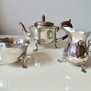 Tea service - .925 silver - Hukin & Heath (John Thomas...