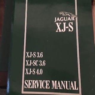 Servicehandbuch buchen - Jaguar - XJ-S Facelift Sport...