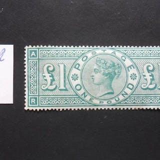 Großbritannien - England 1883 - £1 green - Stanley Gibbons 212
