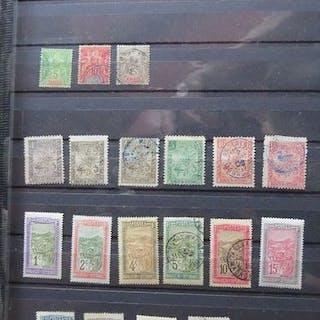 Französische Kolonien - Madagascar, advanced collection of stamps