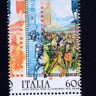 Italien Republik 1990 - Italian Folklore 'Merano' Shifted...