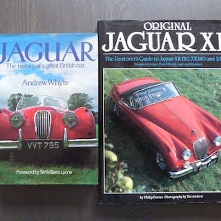 Bücher - Jaguar - Lot; The history of a great British car...