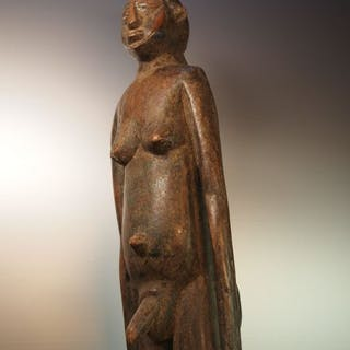 Statue d'ancêtre - Bois dur - BATEBA - Burkina Faso