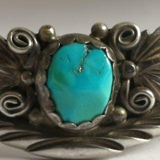 Armband (1) - .925 Silber, Türkis - Navajo - USA