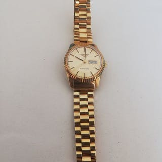 Longines - Automatic In Oro 750 - Damen - 1980-1989