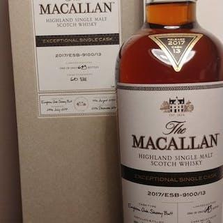 Macallan 2003 Exceptional Single Cask - Original bottling - 0,7 litros