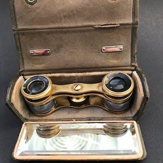 1920 French Zingraff Antique Opera Binoculars