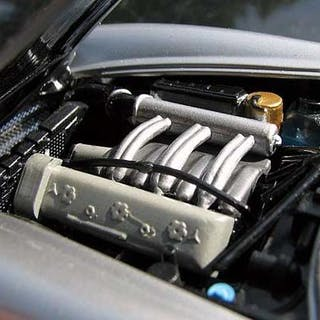 Franklin Mint - 1:24 - mercedes Benz 300sl gull-wing...