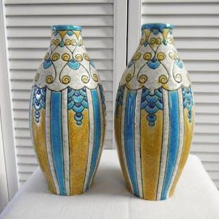 Charles Catteau - Boch Frères, Keramis - Vase (2)