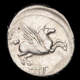 Repubblica romana - Denarius  - Q