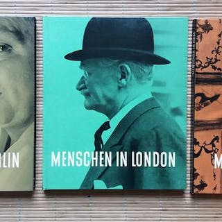 Nico Jesse - Lot with 3 books; Menschen in Berlin & in...