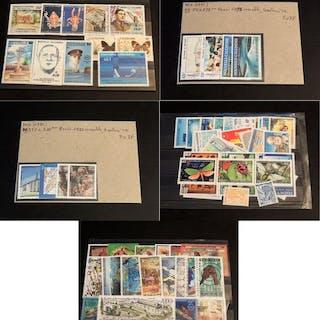Nouvelle Calédonie 1990/2002 - Collection de bonnes...