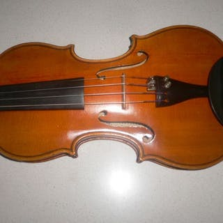 Labeled H Clotelle - Violin - France - 1960