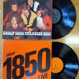 Group 1850- Paradise Now/Group 1850 - Live - LP's - 1969/1975