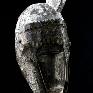 Beau masque africain - Bois - Marka, Sarakole - Bambara - Mali
