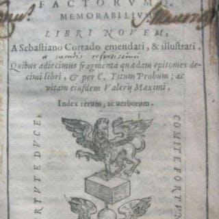 Valerio Massimo - Valerii Maximi Dictorum factorum...