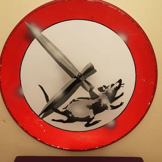 "Dverso - Banksy ""Street Rat"""