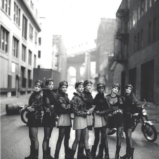 Peter Lindbergh - (1944-2019) - The Wild Ones Supermodel Versace Photo