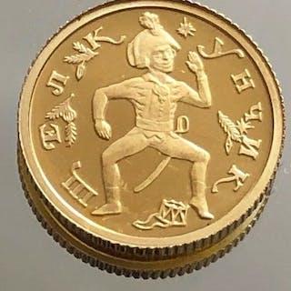 Russland - 10 Rouble 1996 *Nubknacker* 1/20 oz - Gold