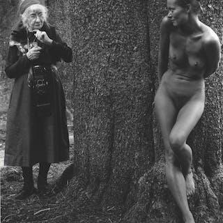 Imogen and Twinka, Yosemite - Judy Dater