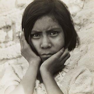 Daughter of Mexican Field Laborer, near Chandler, Arizona - Dorothea Lange